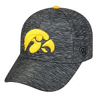 Adult Iowa Hawkeyes Warp Speed Adjustable Cap