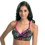 Women's Dolfin Bellas Print Midkini Top