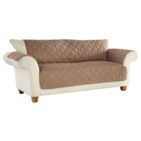Clean & Fresh Odor Eliminating No Slip Sofa Slipcover