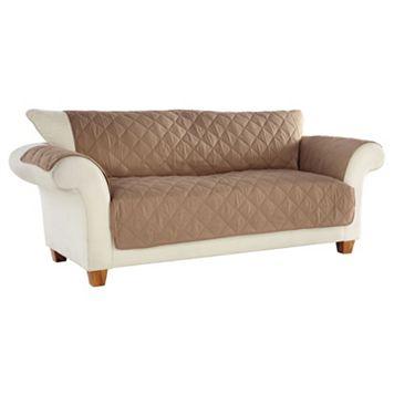Clean & Fresh Odor Eliminating No Slip Sofa Slipcover
