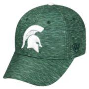 Adult Michigan State Spartans Warp Speed Adjustable Cap