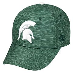 Adult Michigan State Spartans Warp Speed Adjustable Cap