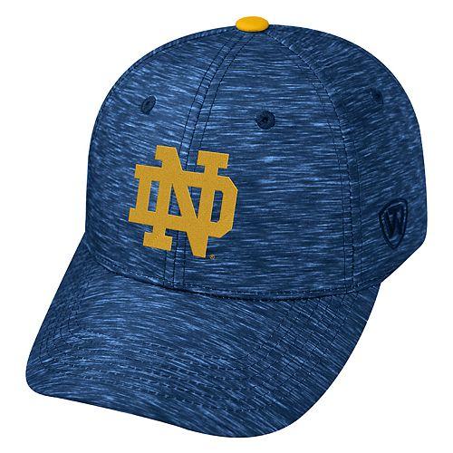 Adult Notre Dame Fighting Irish Warp Speed Adjustable Cap