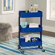 Linon 3 tier Rolling Storage Cart