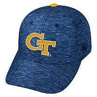 Adult Georgia Tech Yellow Jackets Warp Speed Adjustable Cap