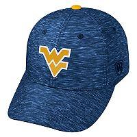 Adult West Virginia Mountaineers Warp Speed Adjustable Cap