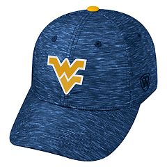 Adult West Virginia Mountaineers Warp Speed Adjustable Cap