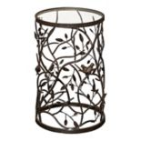 Linon Bird & Branch End Table