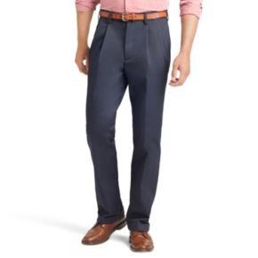 Men's IZOD American Chino Classic-Fit Wrinkle-Free Pleated Pants