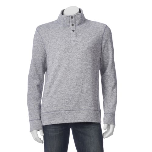 Men's SONOMA Goods for Life™ Mockneck Colorblock Sweater Fleece