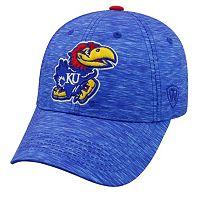 Adult Kansas Jayhawks Warp Speed Adjustable Cap