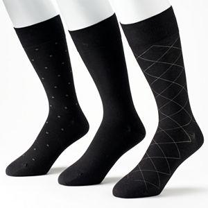 Men's Marc Anthony 3-Pack Dress Socks