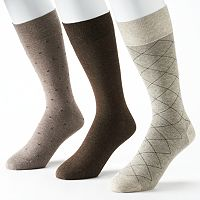 Men's Marc Anthony 3-Pack Dress Socks