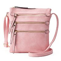 Deluxity Layla Triple-Entry Crossbody