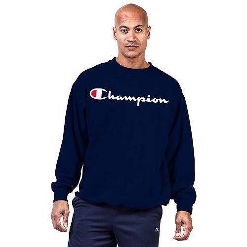 Big & Tall Champion® Fleece Crewneck Sweatshirt
