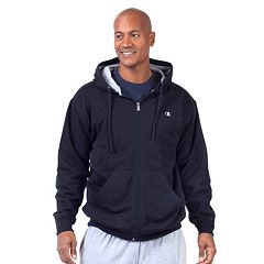 Big & Tall Champion Full-Zip Fleece Hoodie
