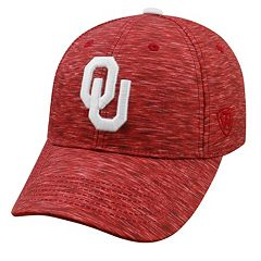 Adult Oklahoma Sooners Warp Speed Adjustable Cap