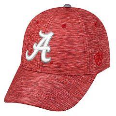 Adult Alabama Crimson Tide Warp Speed Adjustable Cap