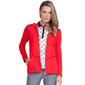 Women's Tail Plush Knit Golf Jacket