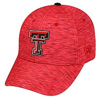 Adult Texas Tech Red Raiders Warp Speed Adjustable Cap
