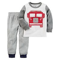 Toddler Boy Carter's Fire Truck Top & Pants Set