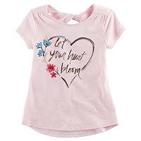 Girls 4-12 SONOMA Goods for Life™ Short-Sleeved Twist-Back Tee