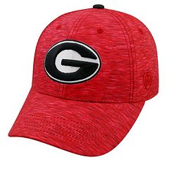 Adult Georgia Bulldogs Warp Speed Adjustable Cap