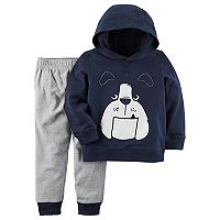 Toddler Boy Carter's Bulldog Hoodie & Pants Set