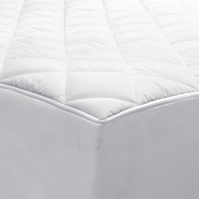 Zippered mattress protector Bed Bug Resistant Kohls Allerease 2in1 Zippered Mattress Protector Luxury Mattress Pad
