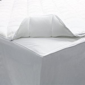 Allerease 2-in-1 Zippered Mattress Protector & Luxury Mattress Pad