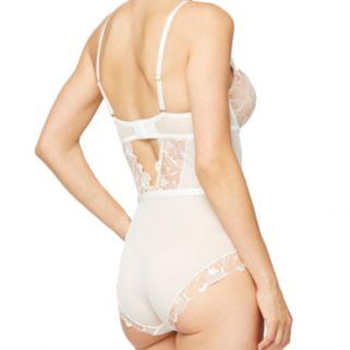 Montelle Intimates Eternally Yours Lingerie Lace Bodysuit 9271