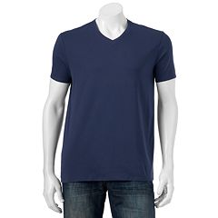 Men's Apt. 9 Solid V-neck Tee