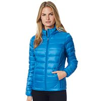 Women's Heat Keep Down Hooded Puffer Jacket