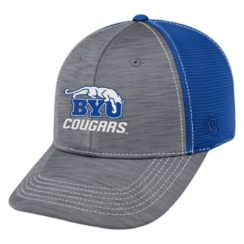 Adult Top of the World BYU Cougars Upright Performance One-Fit Cap