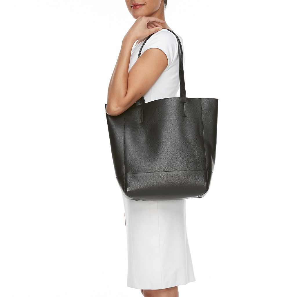 ili Market Leather Tote