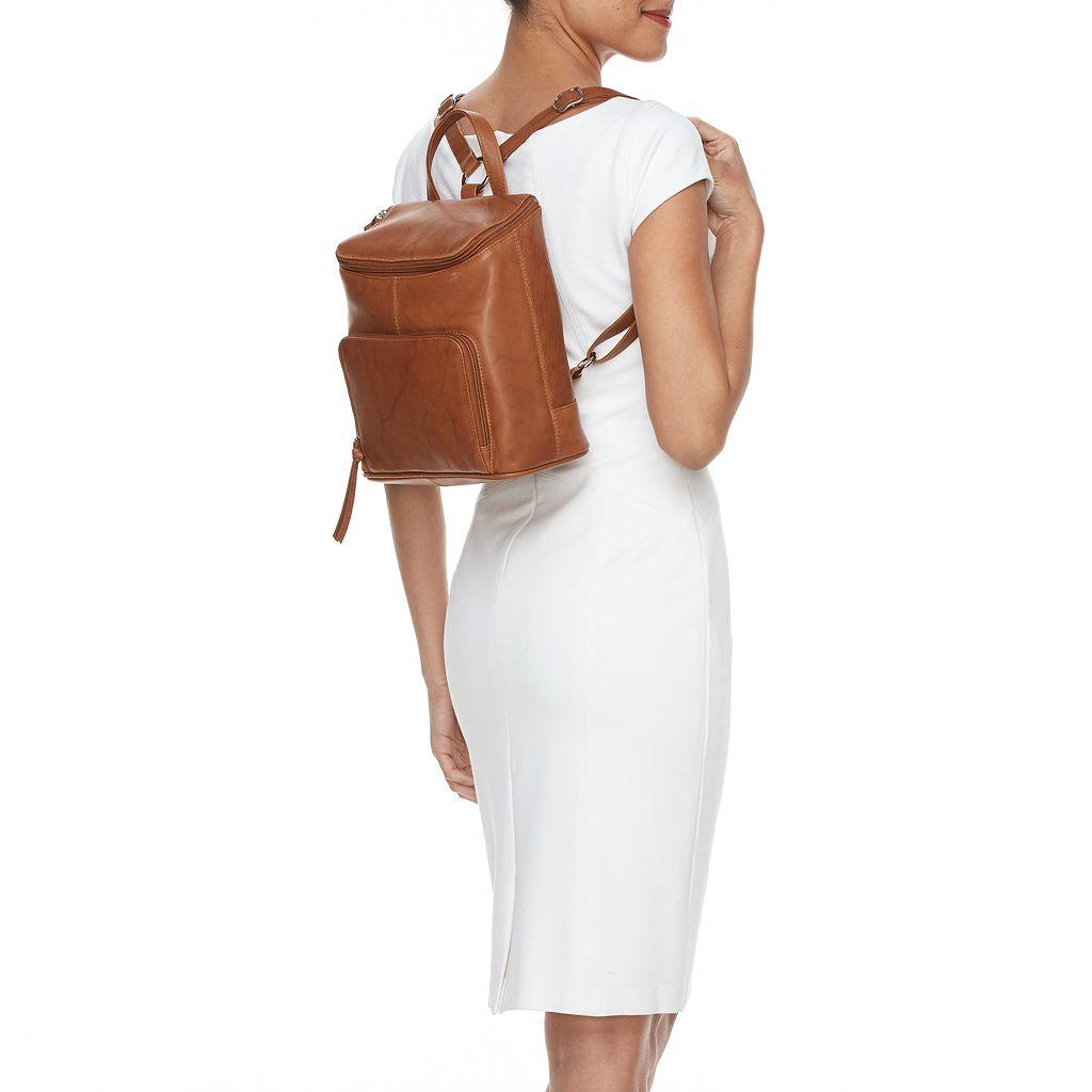 ili RFID-Blocking Leather Backpack