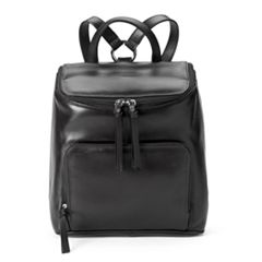 ili RFID-Blocking Leather Backpack