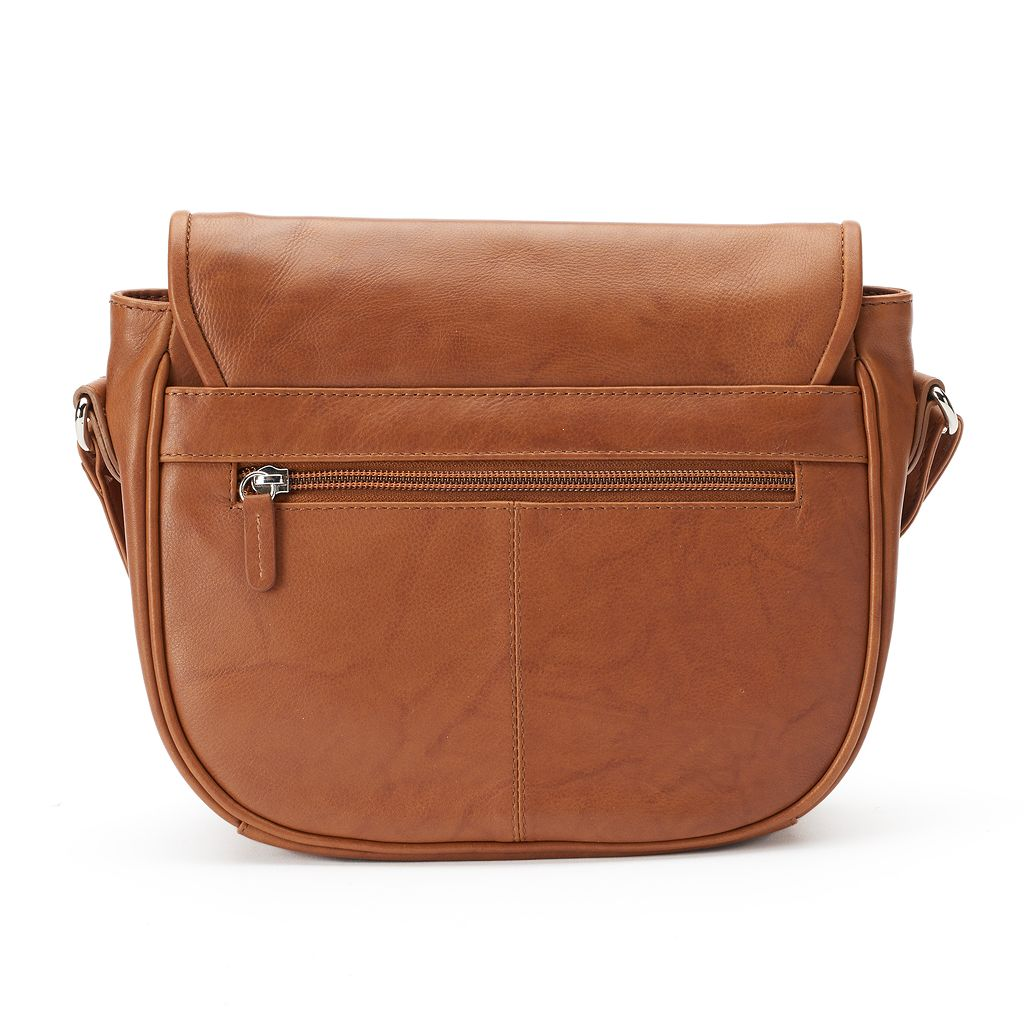 ili Leather Flap Crossbody Bag