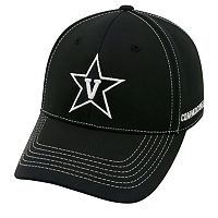 Adult Top of the World Vanderbilt Commodores Dynamic Performance One-Fit Cap