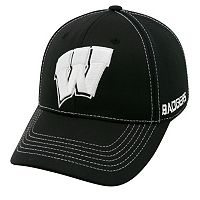 Adult Top of the World Wisconsin Badgers Dynamic Performance One-Fit Cap