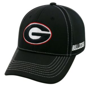 Adult Top of the World Georgia Bulldogs Dynamic Performance One-Fit Cap