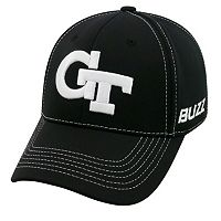 Adult Top of the World Georgia Tech Yellow Jackets Dynamic Performance One-Fit Cap