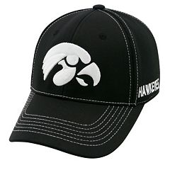 Adult Top of the World Iowa Hawkeyes Dynamic Performance One-Fit Cap