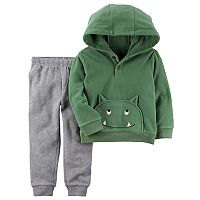 Toddler Boy Carter's 2-pc. Monster Pullover Hoodie & Pants Set