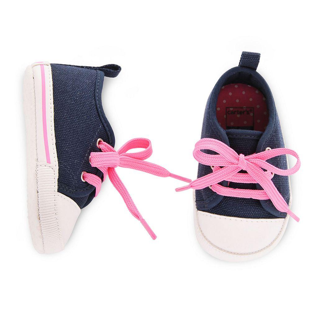 Baby Girl Carter's Slip-On Sneaker Crib Shoes