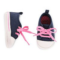 Baby Girl Carter's Slip-On Sneaker Crib Shoes