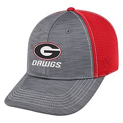Adult Top of the World Georgia Bulldogs Upright Performance One-Fit Cap