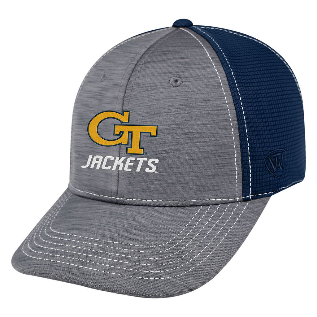 Adult Top of the World Georgia Tech Yellow Jackets Upright Performance One-Fit Cap