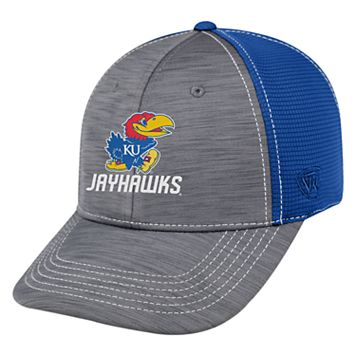 Adult Top of the World Kansas Jayhawks Upright Performance One-Fit Cap