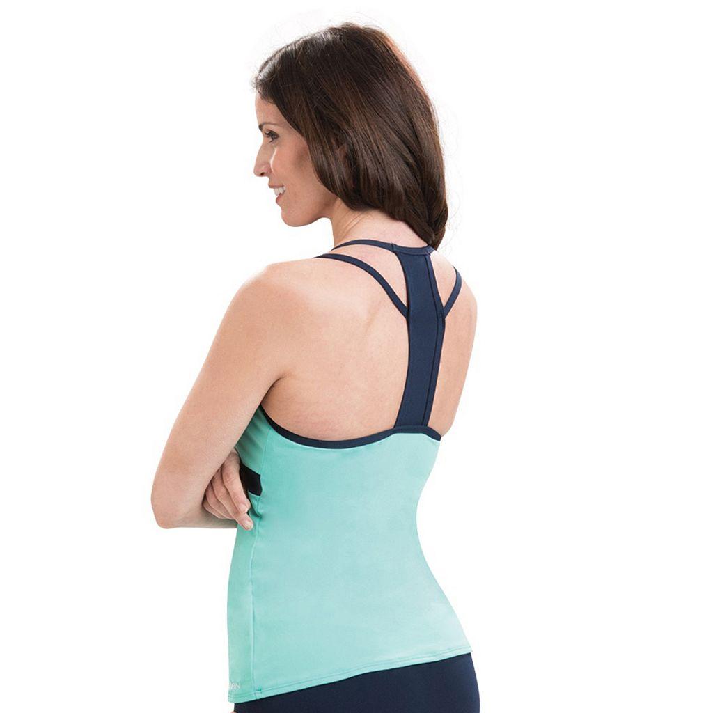 Women's Dolfin Aquashape Colorblock Tankini Top